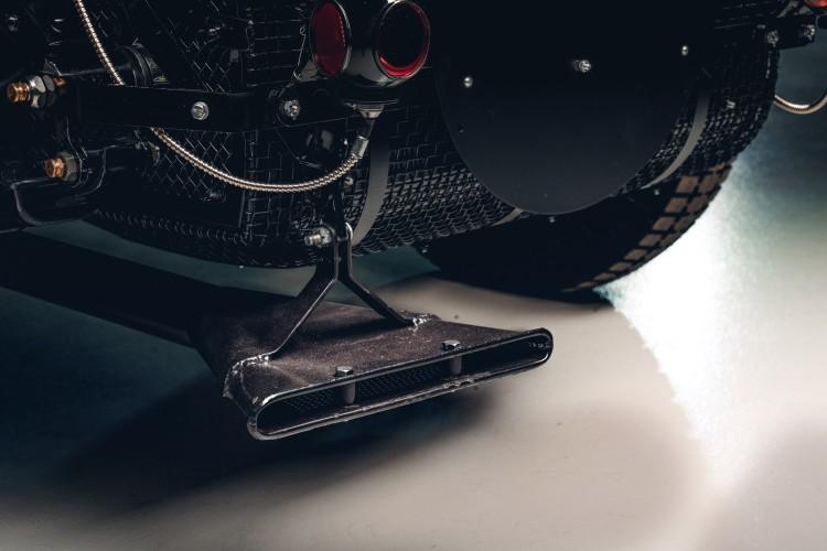 Exhaust of Bentley Blower