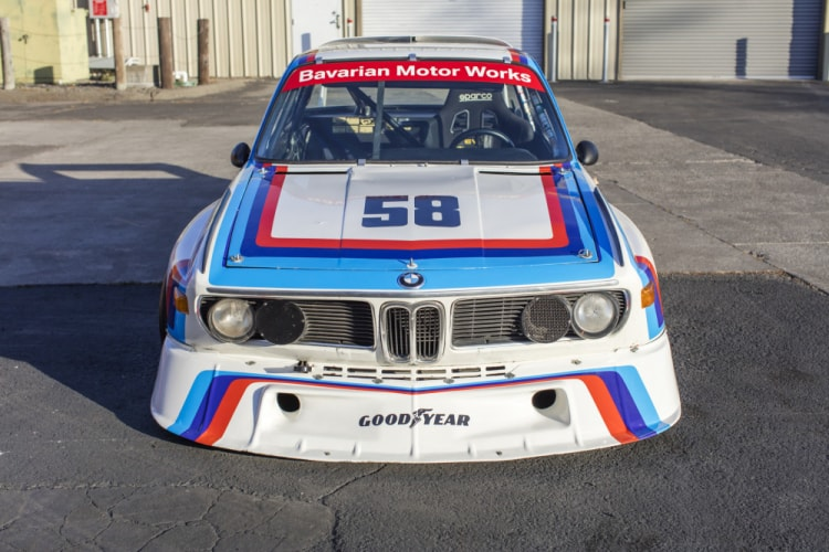 Front of BMW