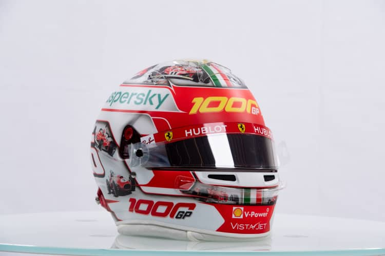 Charles Leclerc Replica Racing Helmet
