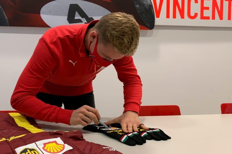 Mick Schumacher Signed Racing Gloves