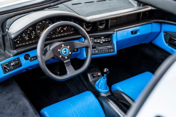 Interior of 1993 Commendatore 112i