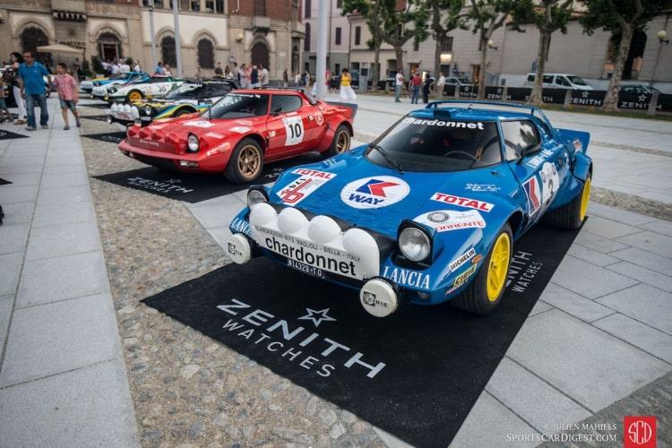 Lancia Stratos Racing cars