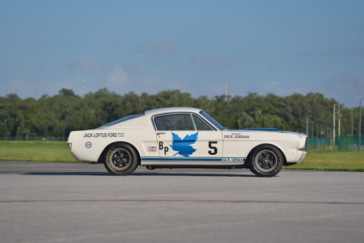 Dick Jordan1965 Shelby GT350R Fastback