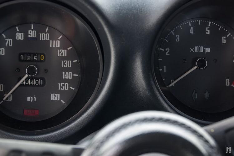 Speedometer starting at 20mph