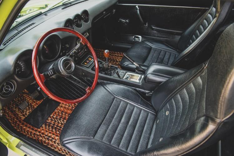 Interior of Datsun
