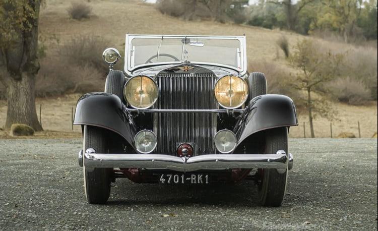 1932 Hispano-Suiza J12 Dual Cowl Phaeton