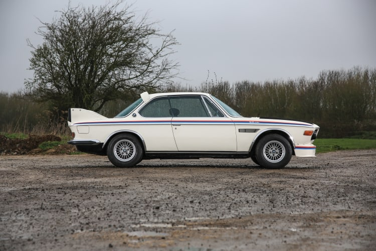 side of BMW 3.0 CSL