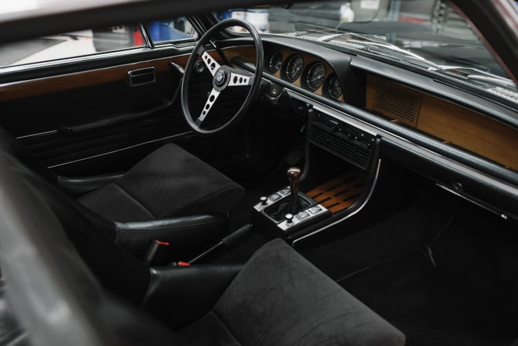 Interior of BMW 3.0 CSL