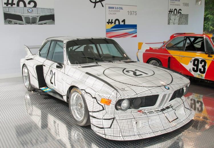 Frank Stella BMW 3.0 CSL, 1976