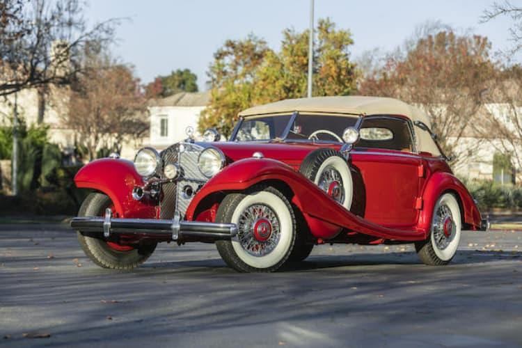 1939 Mercedes-Benz 540K Special Cabriolet A