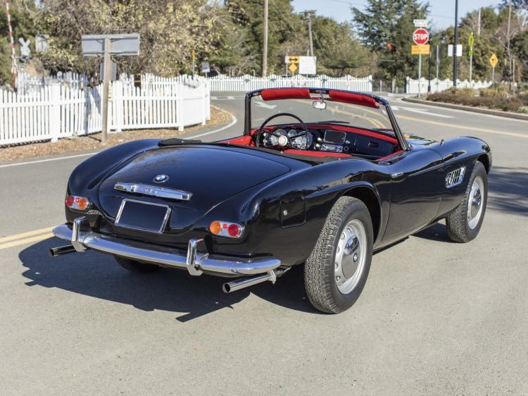 rear of 1959 BMW 507