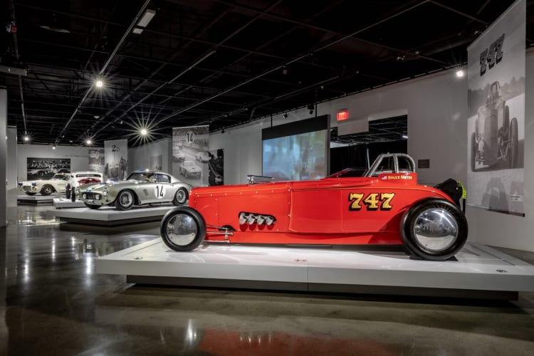 """1929 Ford """"747"""" Bonneville racer"""
