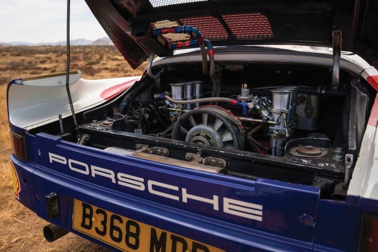 Engine of 1985 Porsche 959