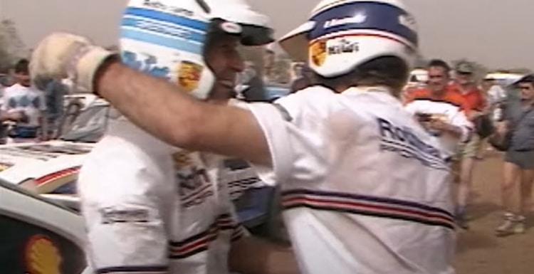 Victory in the 1986 Paris-Dakar Rally