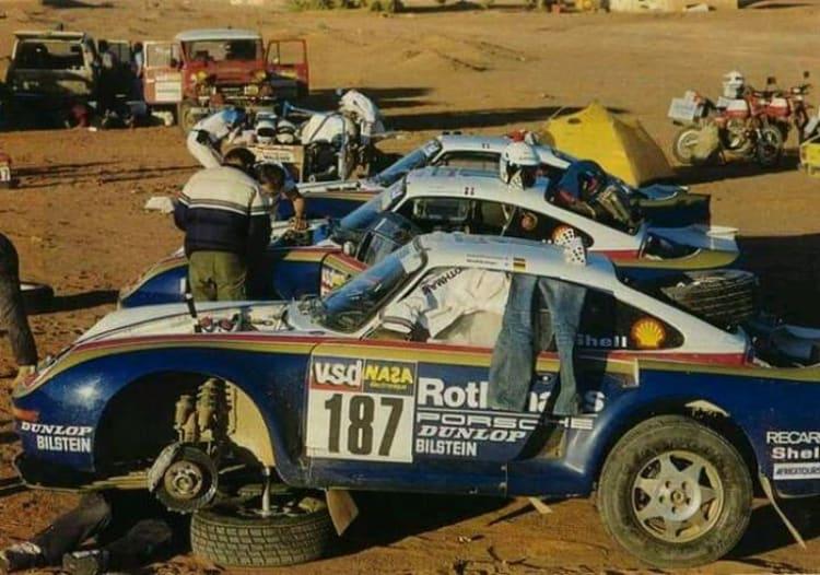 1986 Porsche 959 Paris-Dakar