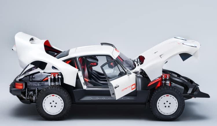 Suspension of Porsche