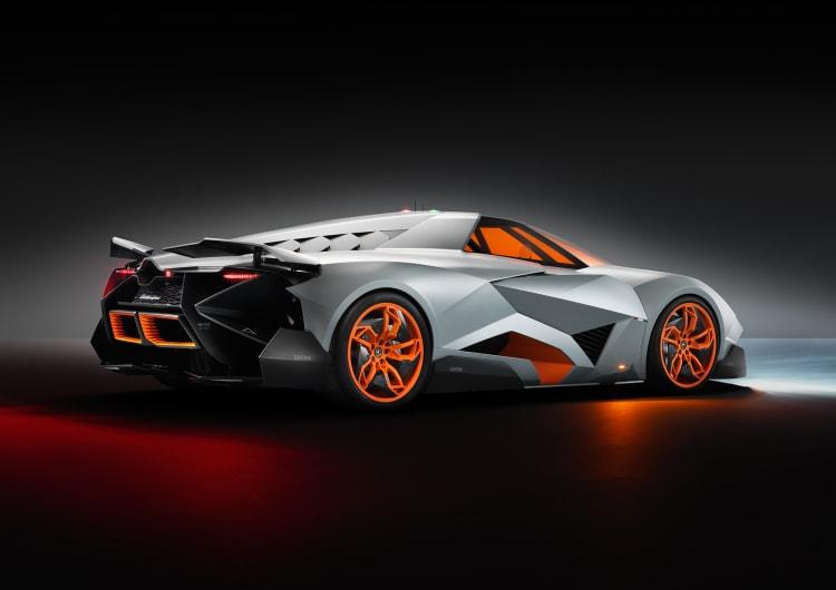 side profile of Lamborghini Egoista