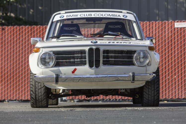 Front of BMW 2002 Ti