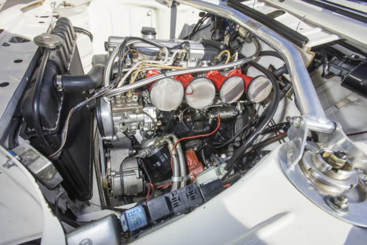 Engine of the car