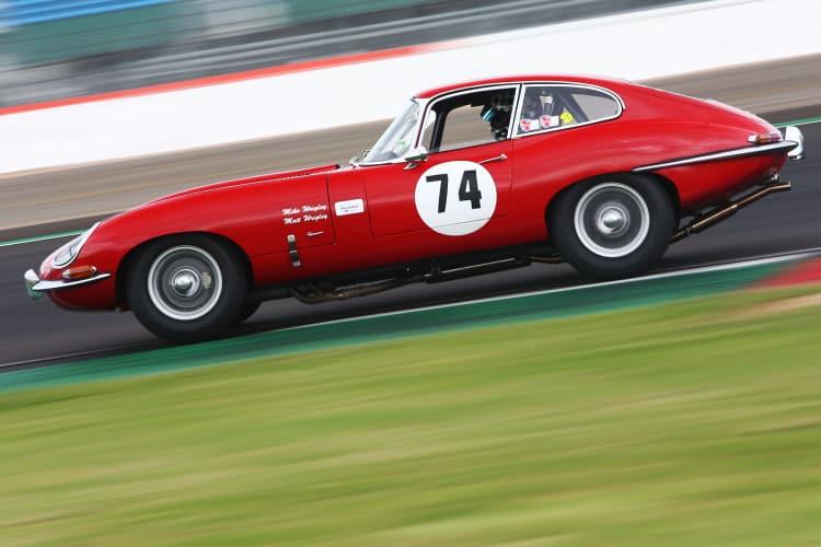 Racing the Jaguar E Type
