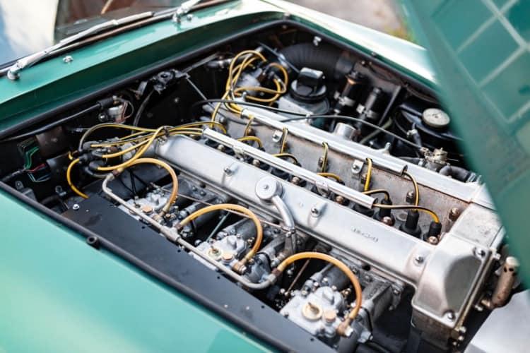 engine of 1961 Aston Martin DB4 GT