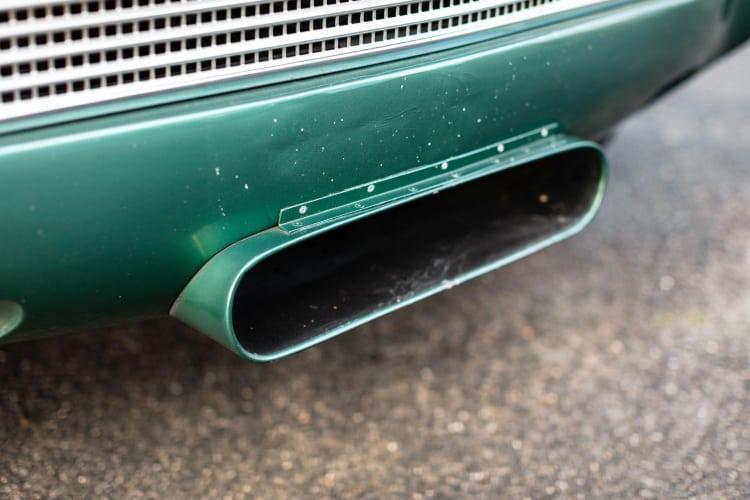 air intake of car
