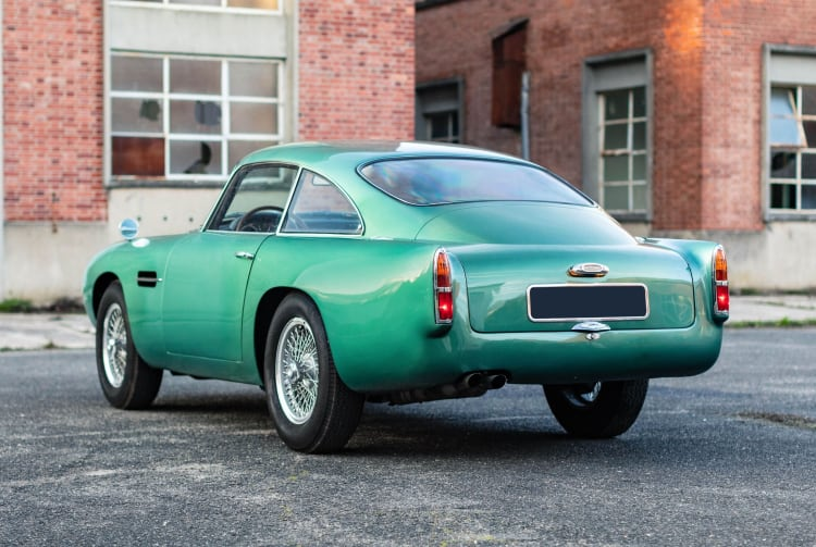 rear of 1961 Aston Martin DB4 GT