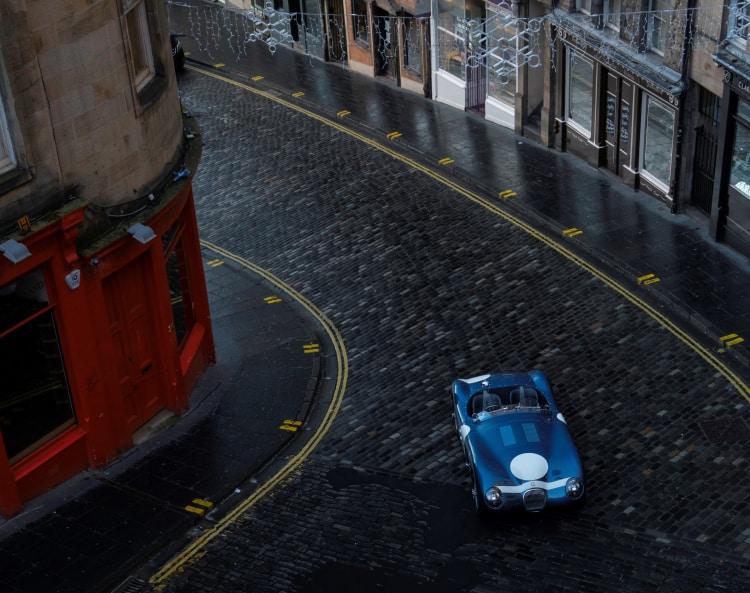 car in the street