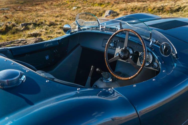 interior of the Ecurie Ecosse C Type
