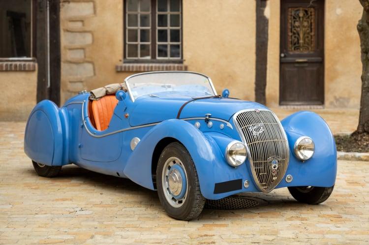 1938 Peugeot 402 DES Darl'mat Special Sport