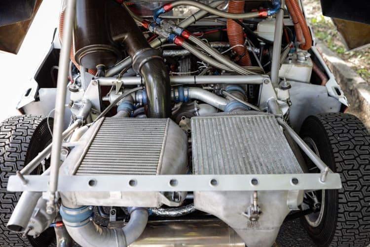 Lancia engine