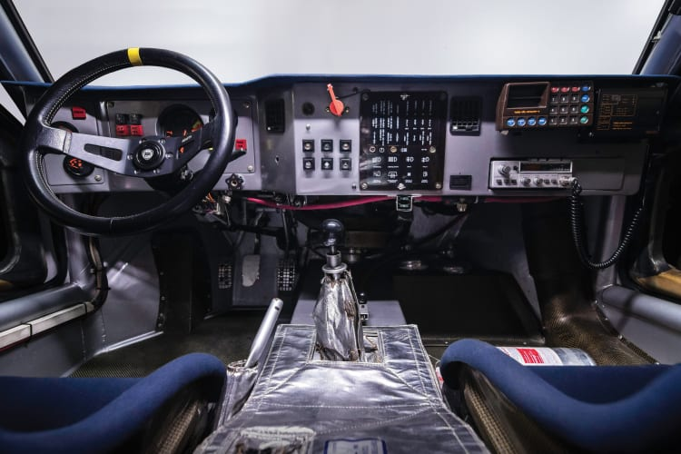 Dashboard of Lancia Delta S4