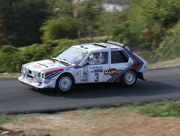 racing the Lancia