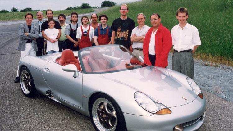 Release of the Porsche 986 Boxster