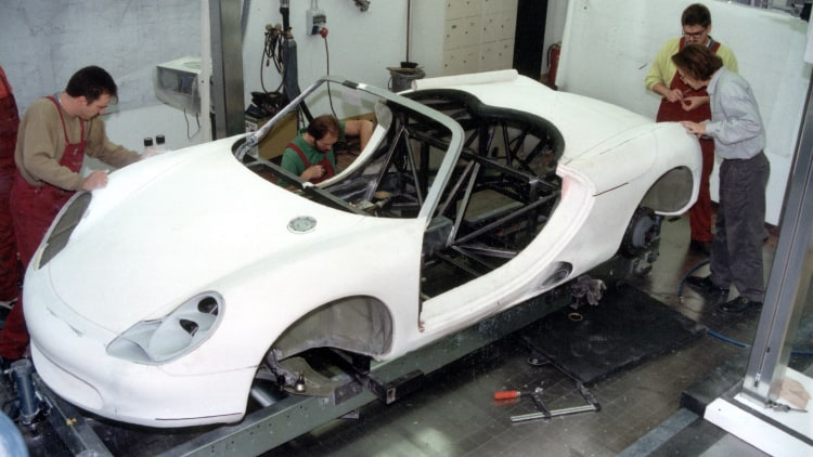 Making concept car of boxster
