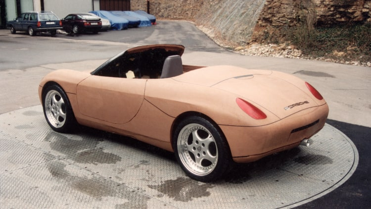 Concept car of Boxster