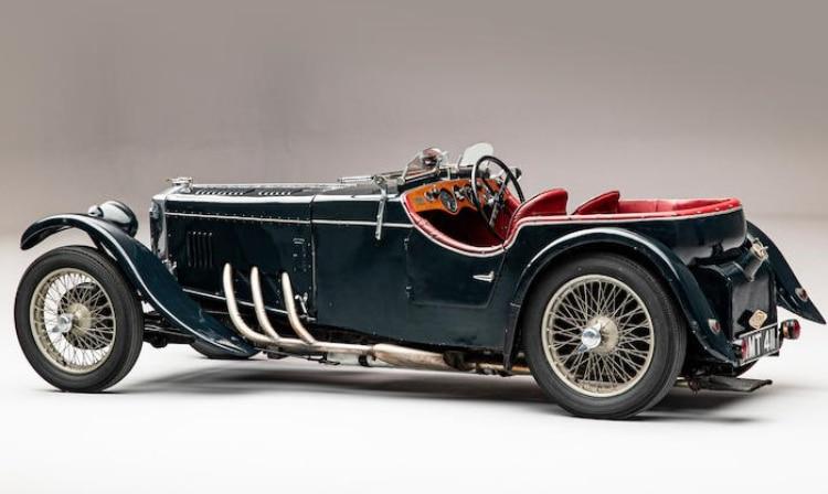 side of 1934 Frazer Nash TT Replica
