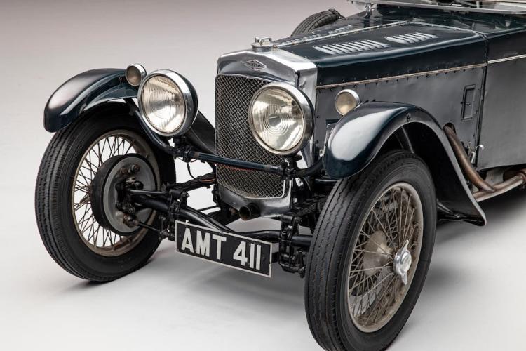 front of 1934 Frazer Nash TT Replica