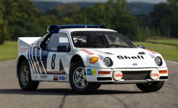 Group B rally racing