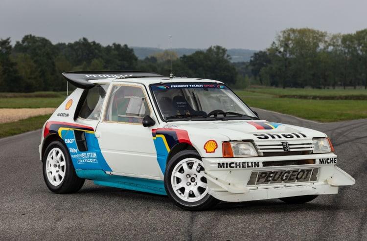 1985 Peugeot 205 Turbo 16 Evolution 2