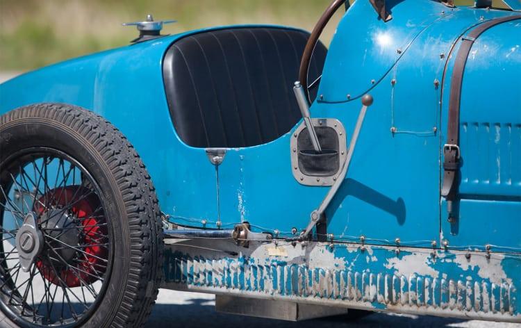 side of 1926 Bugatti Type 37 Grand Prix