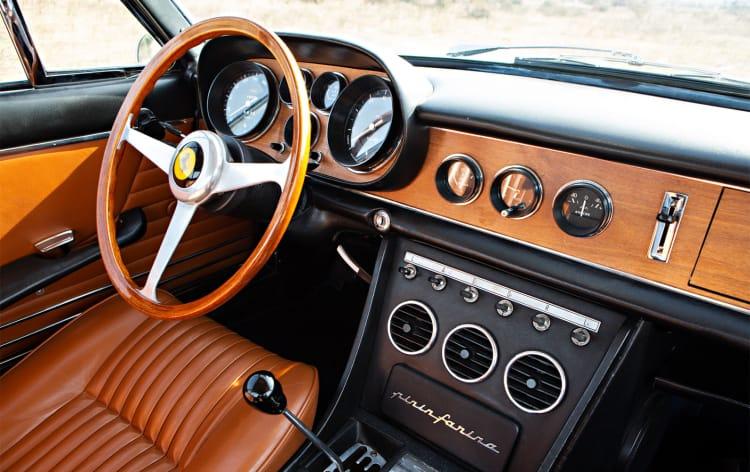 Interior of 1967 Ferrari 330 GTC