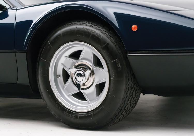 Wheels of car