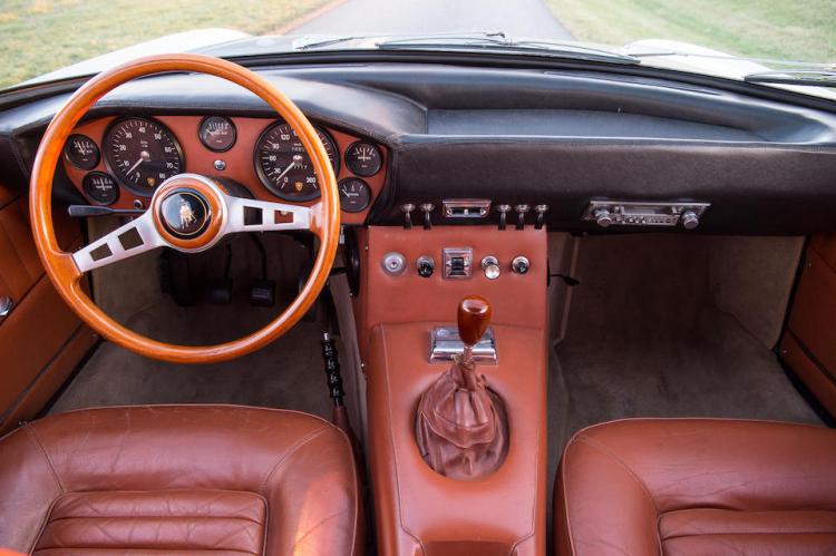 interior of1968 Lamborghini 400GT Islero 2+2