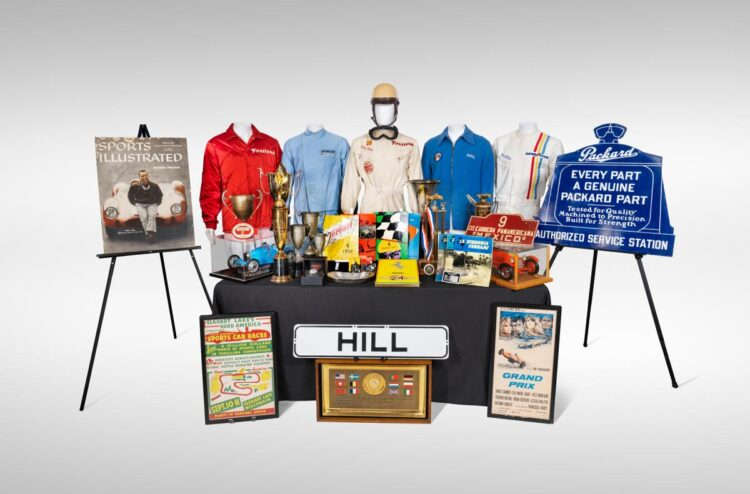 """The Phil Hill Automobilia Collection """"A Life in Racing"""""""