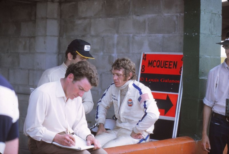 1970 12 Hours of Sebring with Steve McQueen