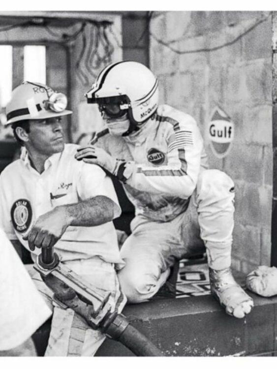 Racing with Steve McQueen