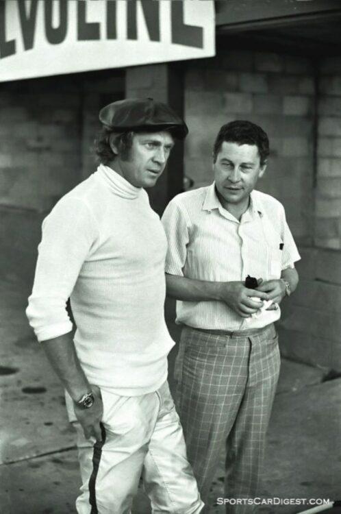 Steve McQueen and a journalist