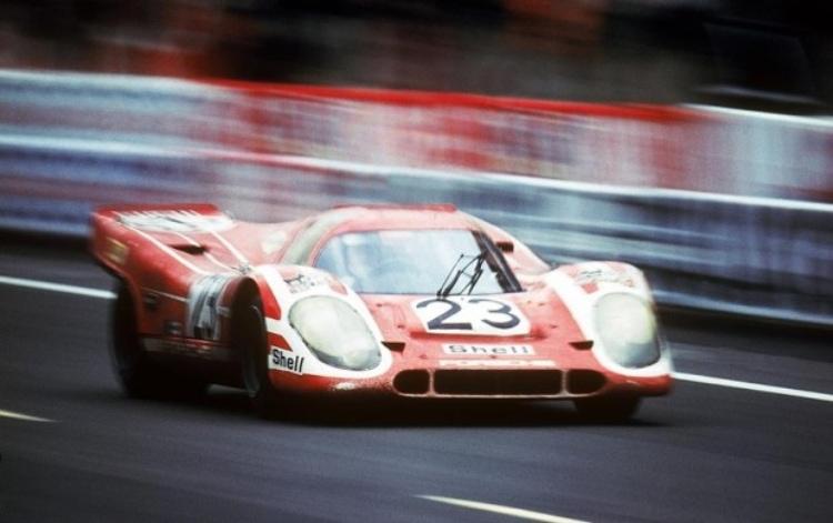 197 Le Mans winner Hans Hermann and Richard Attwood