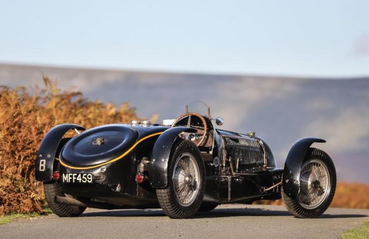 back of 1934 Bugatti Type 59 Sports